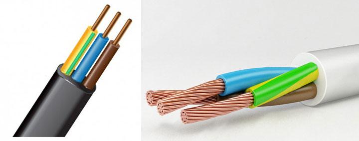 круглый и плоский кабель чем разделывать