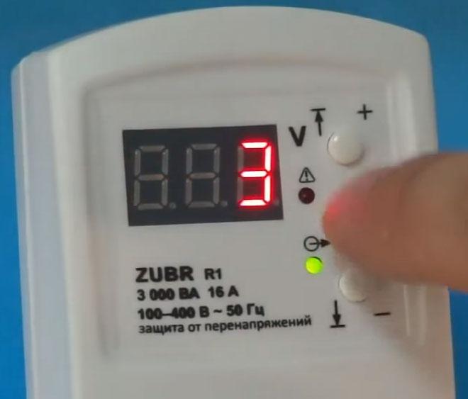 установка времени АПВ на реле в розетку zubr