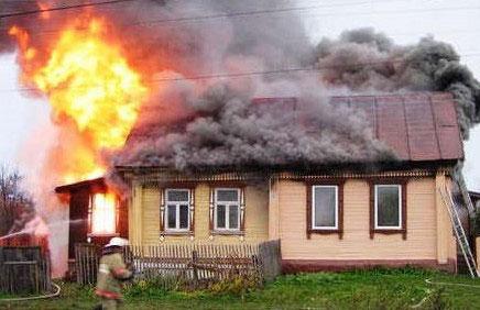 пожар в доме из-за гофры