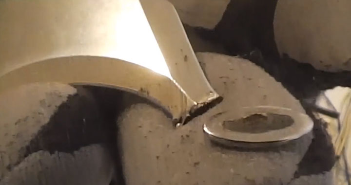 отломившаяся пятка на ноже haupa