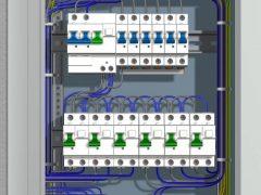 Схема электрощитка в квартире — подключение автоматов, узо