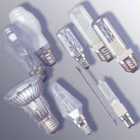 галогенные лампочки разных форм