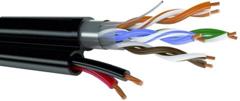 двухпарный utp кабель нельзя применять для цифрового видеонаблюдения
