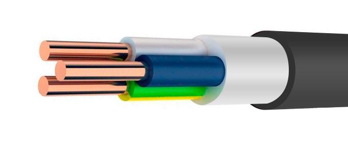 трехжильный кабель ВВГнг LS 3*1,5