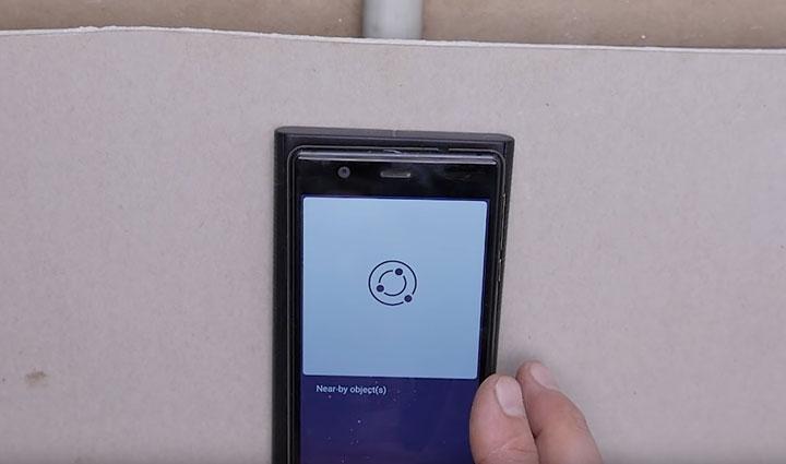 сканер walabot на может определить что находится за стеной ошибка погрешность