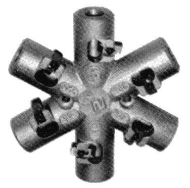 нож звездочка для зачистки изоляции у провода СИП