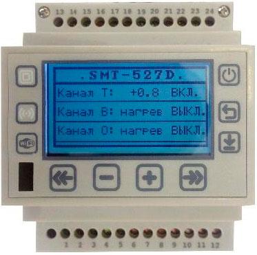 термостат smt527D и его подключение