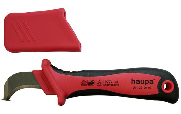 нож с пяткой фирмы haupa
