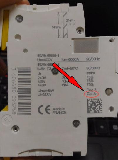 селективность автоматических выключателей какие надписи пишут на корпусе