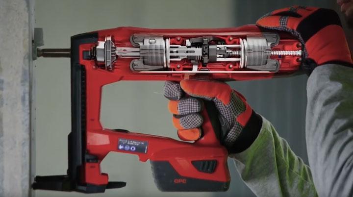 монтажный пистолет Хилти BX3 внутреннее устройство