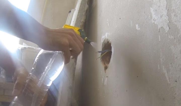 подготовка стены перед монтажем подрозетника