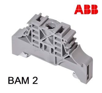 заглушка фиксатор для клеммника абб BAM2