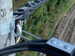 Натяжение СИП провода и расчет стрелы провеса — 2 способа монтажа ВЛИ и ВЛЗ. Монтажные таблицы для СИП 3,4.
