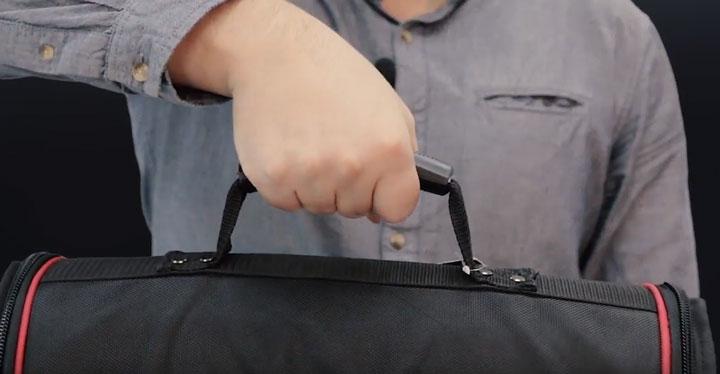 ручка с резиновой вставкой сумки для инструмента