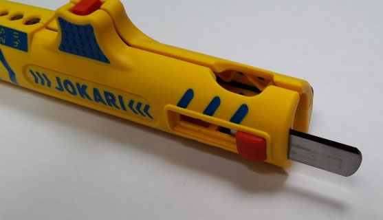 выдвижной вспомогательный нож на Jokari 15