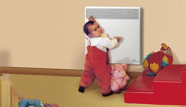 нагреватель с нагревом корпуса менее 55 градусов безопасный для ребенка