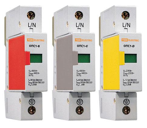 модульные разрядники в щит видеонаблюдения