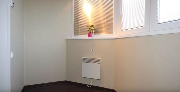 конвектор или теплый пол на лоджии что лучше