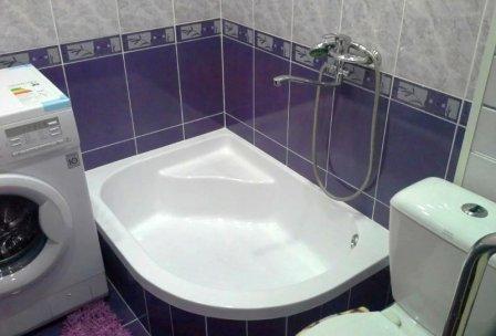 Оптимизация пространства в маленькой ванной комнате
