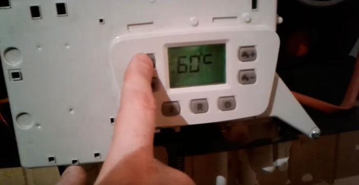 какую температуру нужно выставить на газовом котле при работе с термостатом