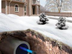 3 способа подключения греющего кабеля к сети при обогреве водопровода.