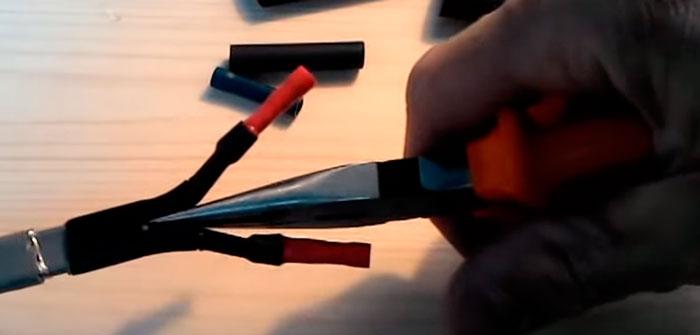 как улучшить герметичность греющего кабеля