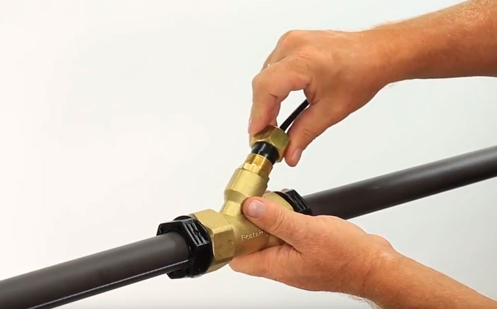 греющий кабель монтаж внутри трубы