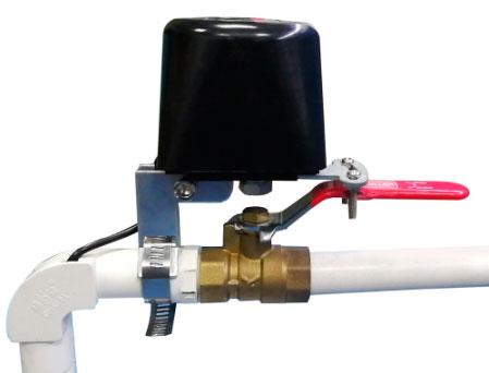 манипулятор на вентиль для закрытия