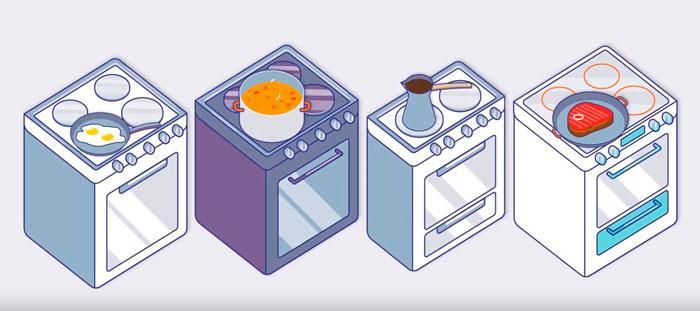 выбор электроплиты на кухню