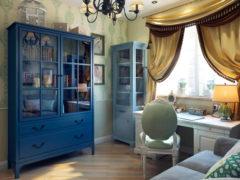 Книжный шкаф со стеклянными дверцами: литературное хранилище