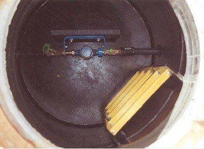 Водомер частного водопровода