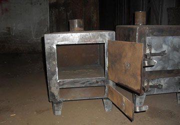 металлическая печка