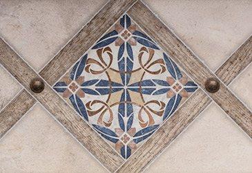 Орнамент в плиточном декоре