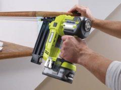 Пистолет для гвоздей по дереву: виды нейлеров для строительных и монтажных работ