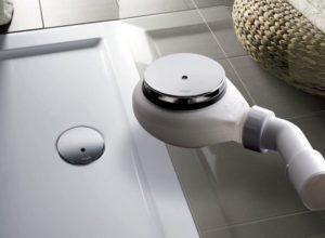 Сифон для душевой кабины с низким поддоном: важный элемент сточной системы