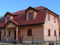 Вальмовая крыша для  частных домов