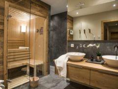 Сауна в квартире в ванной комнате: как обустроить зону для банных процедур
