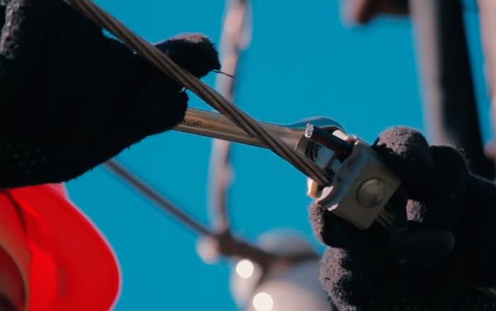 прокалывающие зажимы для сип на голую вл